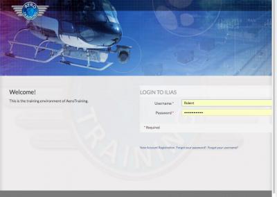 Corporate identity Aero Training 1-3