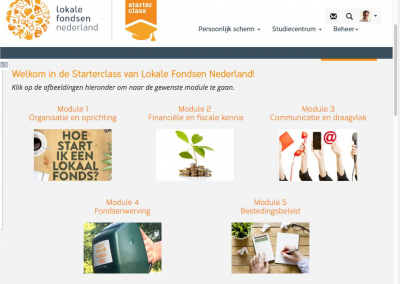 Corporate identity Lokale fondsen 2-4