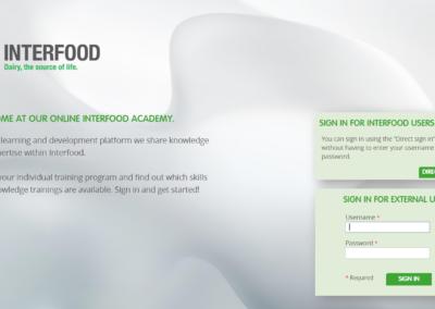 Corporate identity Interfood 1-3